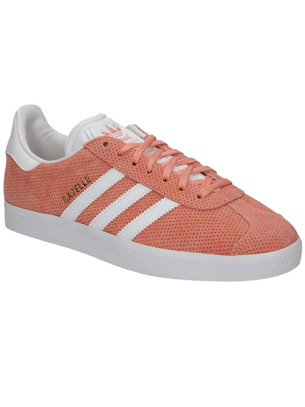 adidas Originals Damen Sneaker Gazelle Sneakers Frauen  65|Sun Glow S16/White/Gold