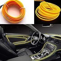 El Wire Rope Light Car Kit 5m/16ft Luces De Neón Debajo Del Tablero Kit De Iluminación…