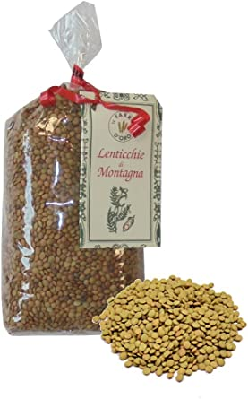 Lentejas italianas (variedad Castelluccio) 1Kg (2x500gr)