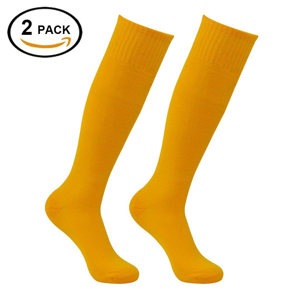 Feelingway SOCKSHOSIERY メンズ B07C9Z3TCM Yellow-2 Pairs Yellow-2 Pairs