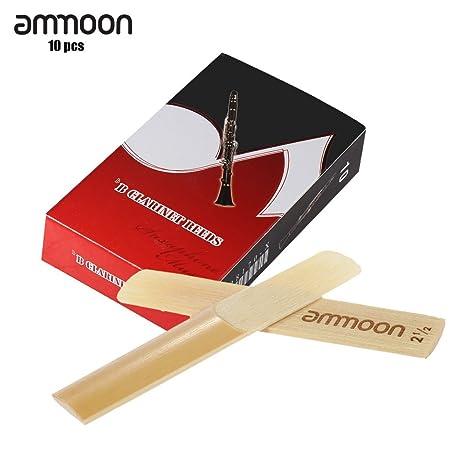 10 ANCE SAX TENORE SIb 3,0 AMMOON SCATOLA 10 PEZZI CANNA DI BAMBU' Muziekinstrumenten Blaasinstrumenten (hout)