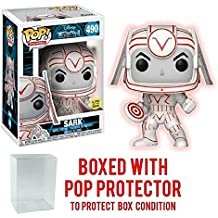 Tron Sark Pop! Vinyl Figure and (Bundled with PROTECTOR CASE)