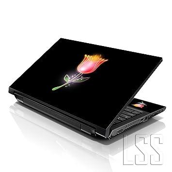 LSS - Adhesivo Decorativo para Ordenador portátil DE 15,6 Pulgadas, Compatible con HP