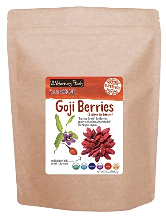 Amazon Com Wilderness Poets Goji Berries Lycium Berries