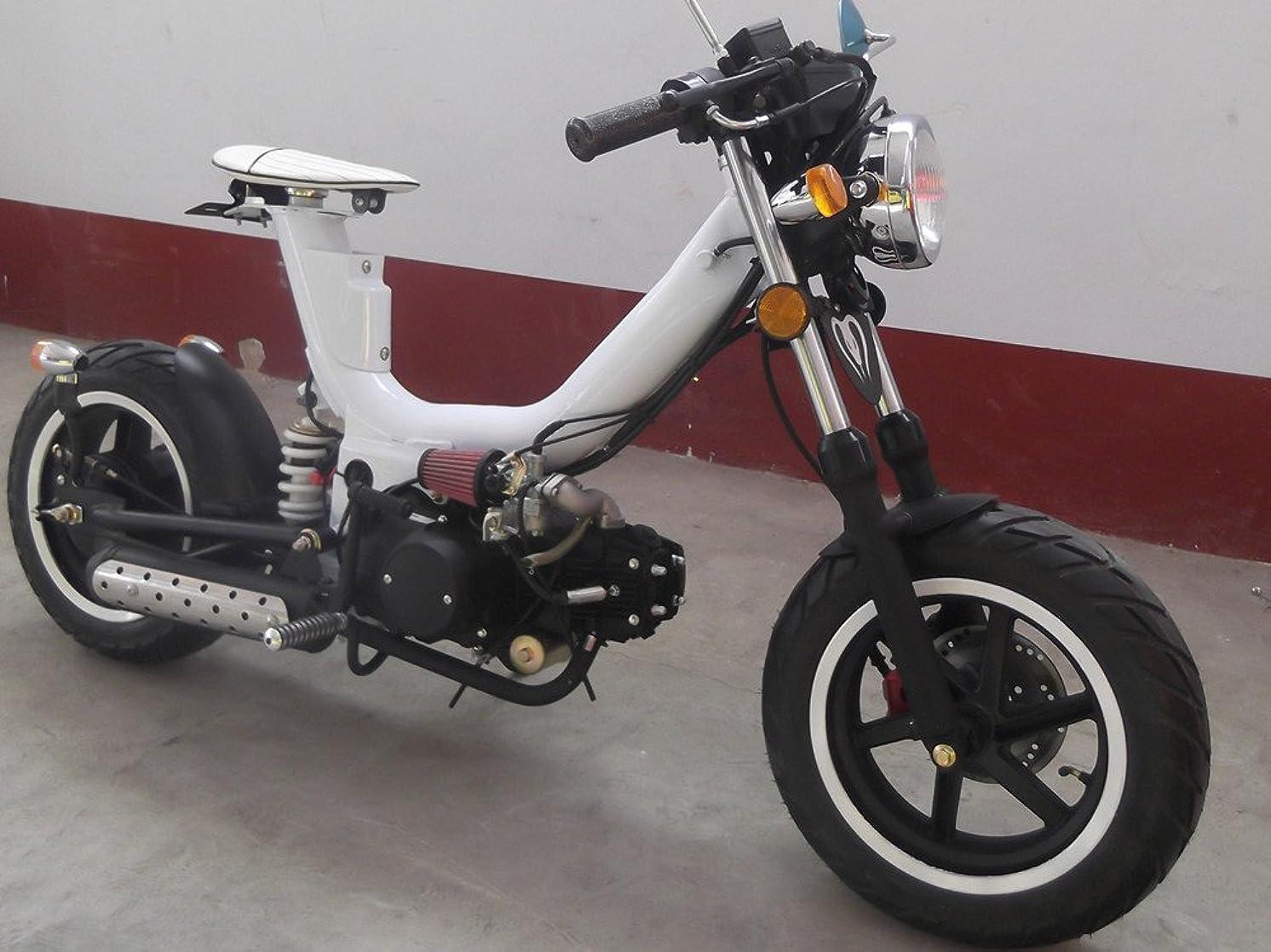 ルーフホイスト並外れてIceBear(アイスベアー) 四輪バギー ATV 50cc セミオートマ前進3速バック付 ミニカー登録 公道走行可 黒 HL50B