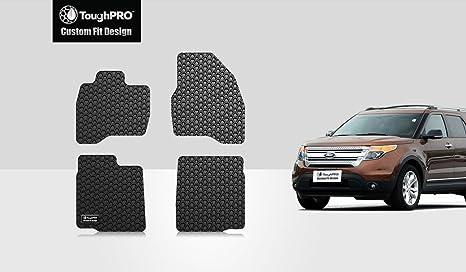 Amazon.com: toughpro Ford Explorer floormats Set – All ...