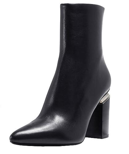 948b6e15c5c0 Alexander Wang Demi-Botte Kirby en Peau Noire  Amazon.fr  Chaussures ...
