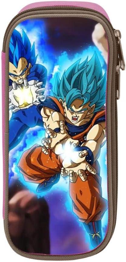 Dragon Ball Anime Goku - Estuche escolar para estudiantes y niñas, Rosa, ONE_SIZE: Amazon.es: Amazon.es