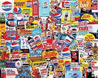 product image for White Mountain Puzzles Pepsi, 550 Piece Jigsaw Puzzle