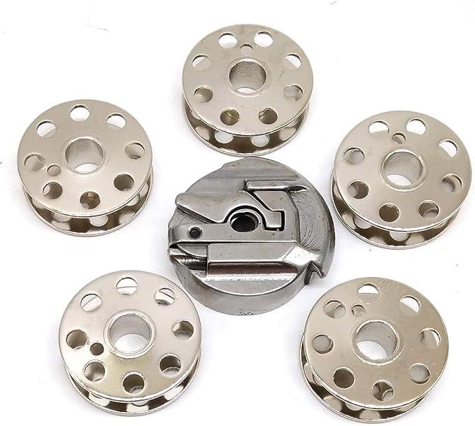 HONEYSEW 45751 (no 45750) Caja de bobina + 5 bobinas 45785 para ...