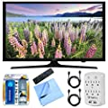 Samsung UN50J5000 - 50-Inch Full HD 1080p LED HDTV Essentials Bundle includes 50-Inch LED HD TV, Cleaning Kit, Microfiber Cloth, 2 HDMI Cables and Surge Protector with USB Ports