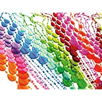 Present Time Multicolored Plastic Beads