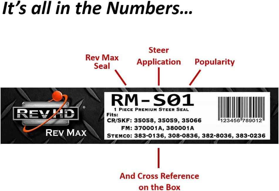 R1-T04 Rev 1 Trailer Seal for Straight Spindle Fits: 373-0123, 370065A, 42627