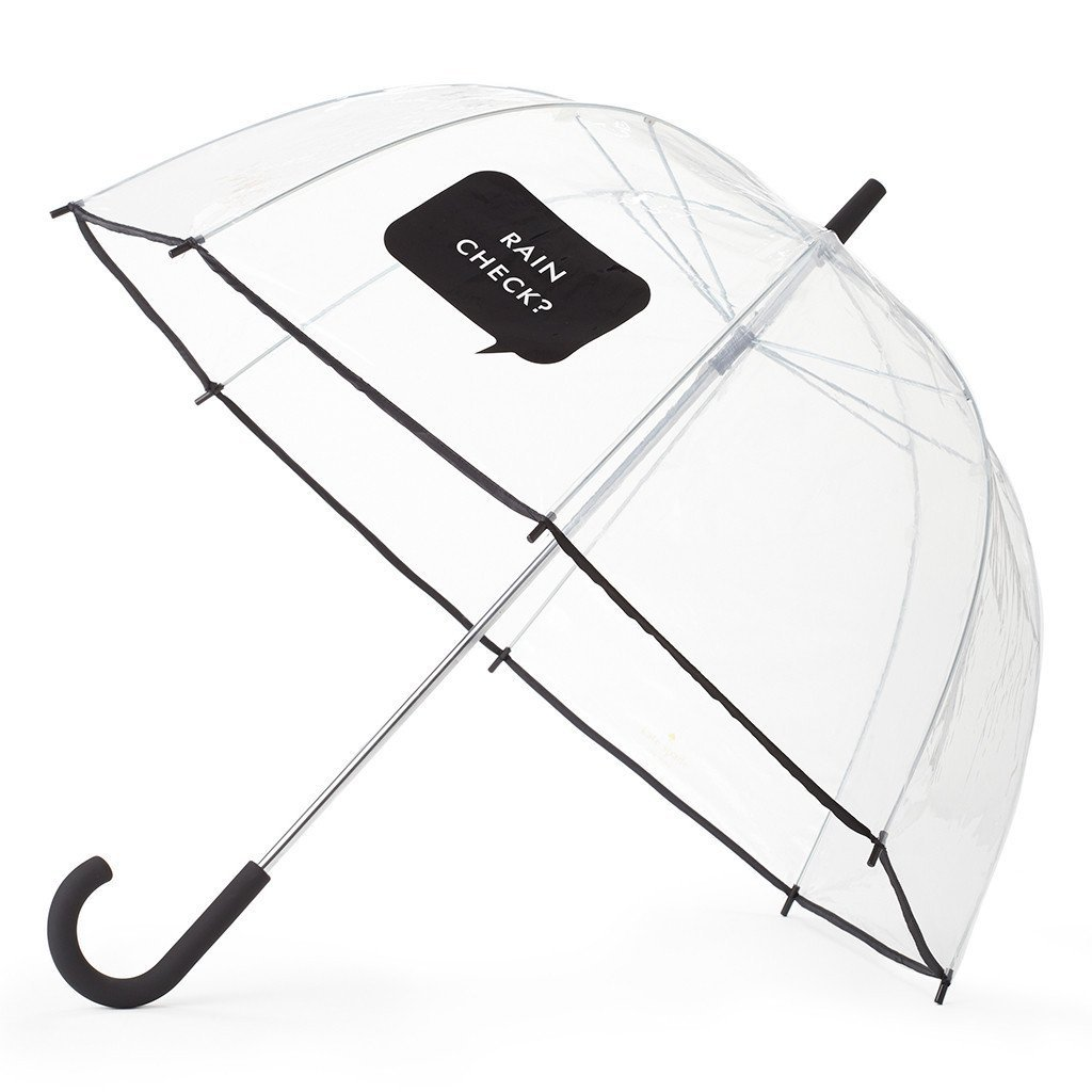 Kate Spade New York Large Dome Umbrella, Rain Check by kate spade new york