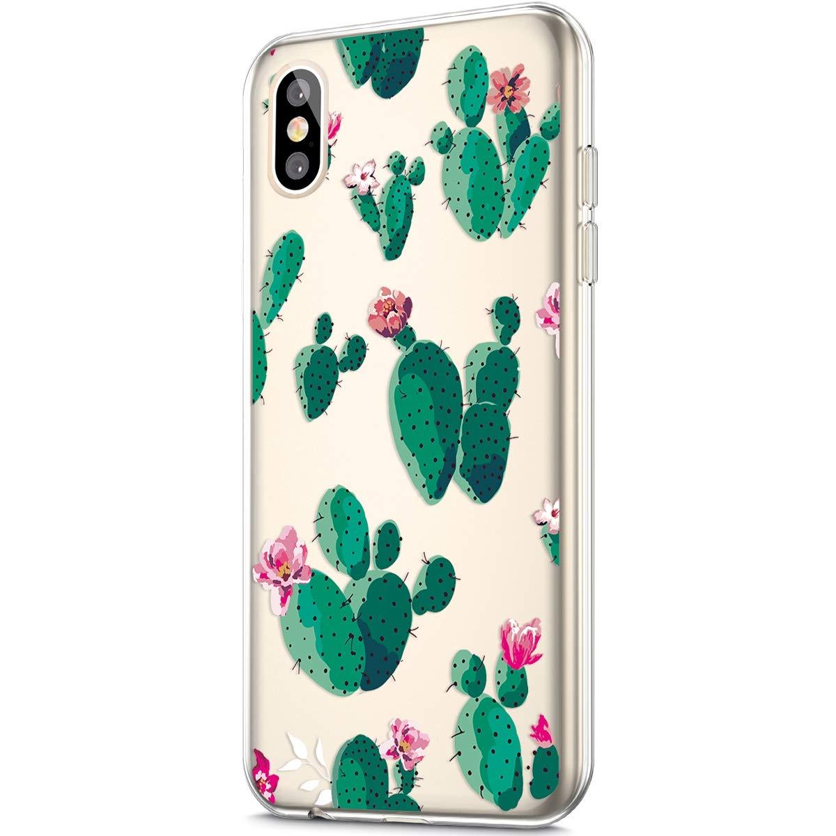 Jinghuash Kompatibel mit iPhone X//XS H/ülle Transparent TPU Silikon mit Muster Ultra D/ünn Durchsichtig TPU Sto/ßfest Bumper Handyh/ülle Schutzh/ülle Tasche Case-Farbe Herz