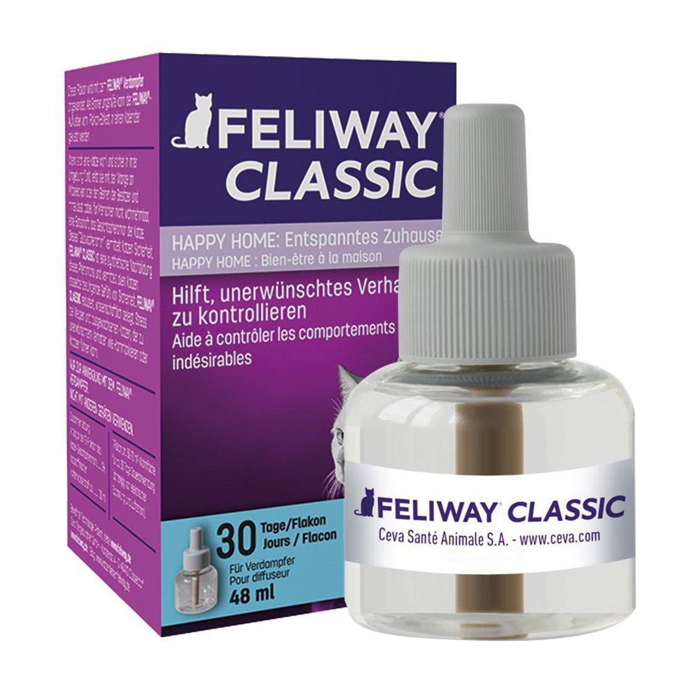 Ceva Feliway Plug-In Diffuser Refill, 48 mL, 3-Pack