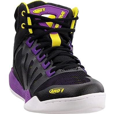 AND1 Overdrive Chaussures de Basketball pour Femme, Noir