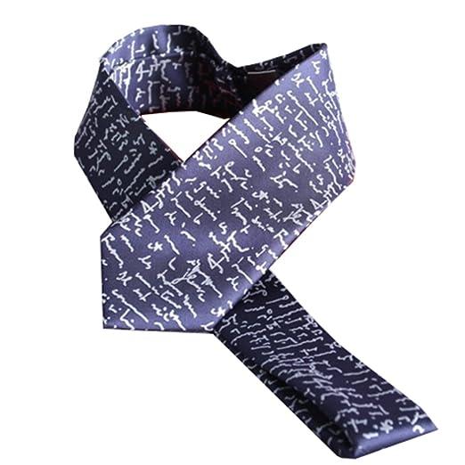YYB-Tie Corbata Moda Personalidad Firma El Nuevo Lazo Corbata ...