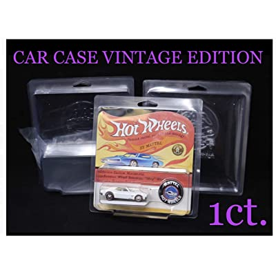 Protech Car Case Vintage Edition for Hot Wheels Vintage Redlines Sized Packages 1ct. Single Protector: Toys & Games
