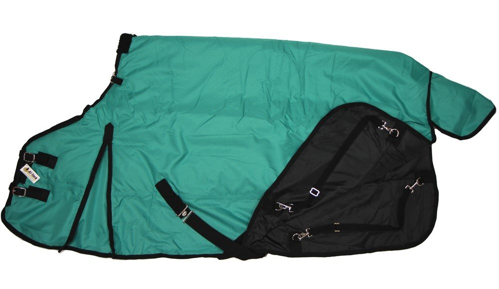 AJ Tack Wholesale 600D Medium Weight Horse Turnout Blanket Water Proof Ripstop