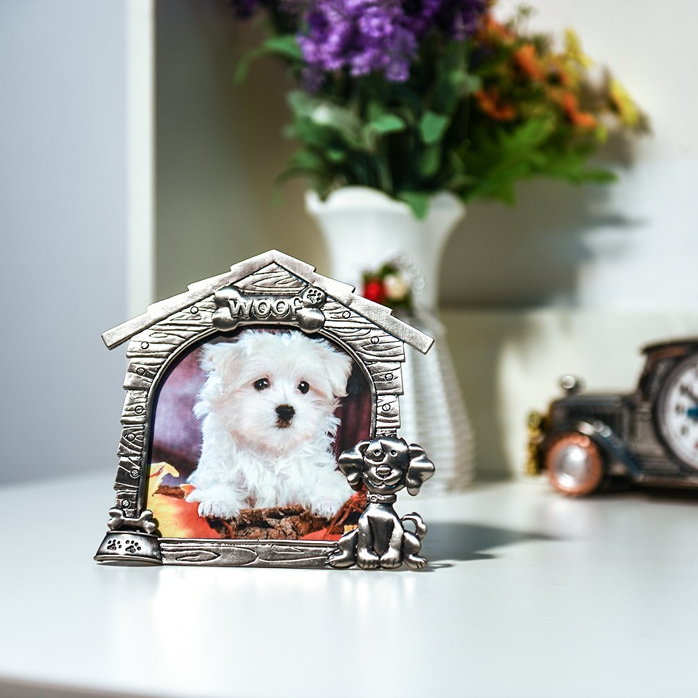 Petacc Pet Memorial Bild ,Rahmen Aluminiumlegierung Hundefoto ...