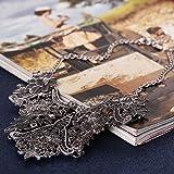 Winter.Z European alloy jewelry accessories hollow retro fashion sweater chain necklace