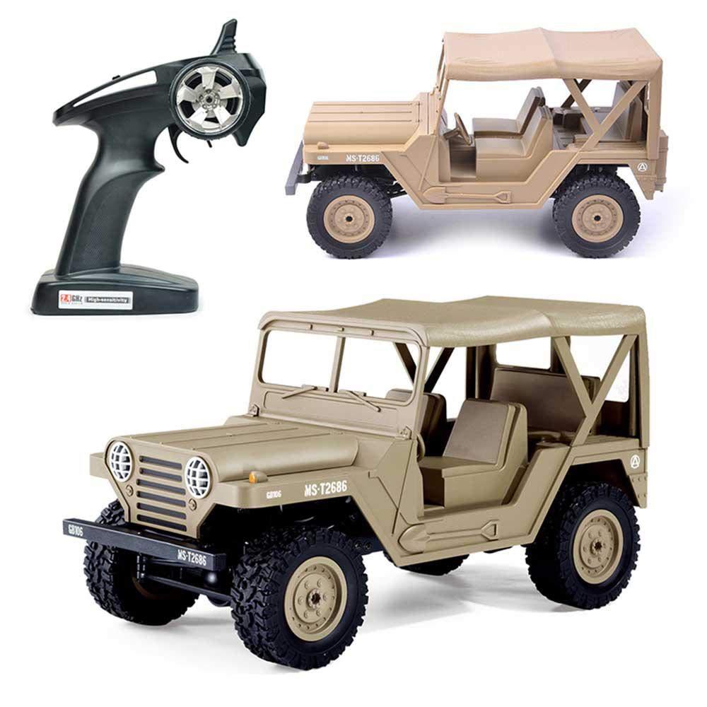 te hará satisfecho Amarillo Amarillo Amarillo LayOPO Coche de Control Remoto 4WD 1  14 4x4 con Faros Delanteros LED 2.4 GHz para vehículos Todoterreno RC BG1522 RC Jeep para niños y Adultos  venta con descuento