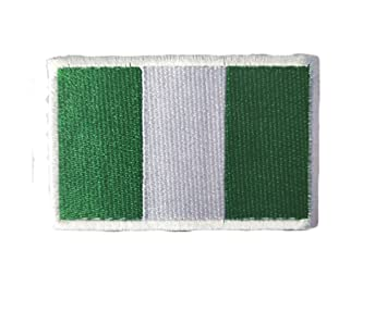 NIGERIA Country Flag Embroidered PATCH