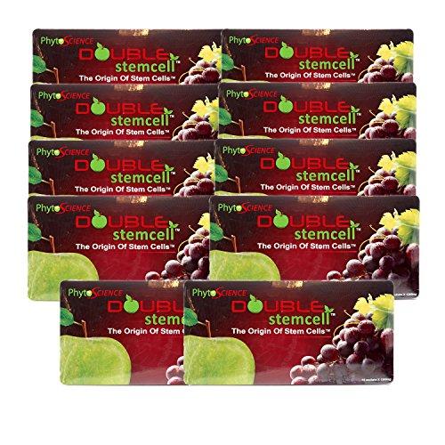 8 Packs of Phytoscience Apple Grape Double StemCell Free 2 Packs (Origin Stem cell Swiss Quality Formula)