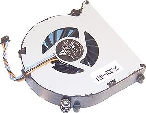 HP 8460w 8470p 6460b Fan 641839-001 649375-001