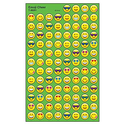 Trend Enterprises Inc. Emoji Cheer superSpots Stickers, 800 ct ()