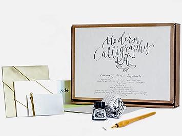 Calligraphy kit by kirsten burke beginners gift set adult