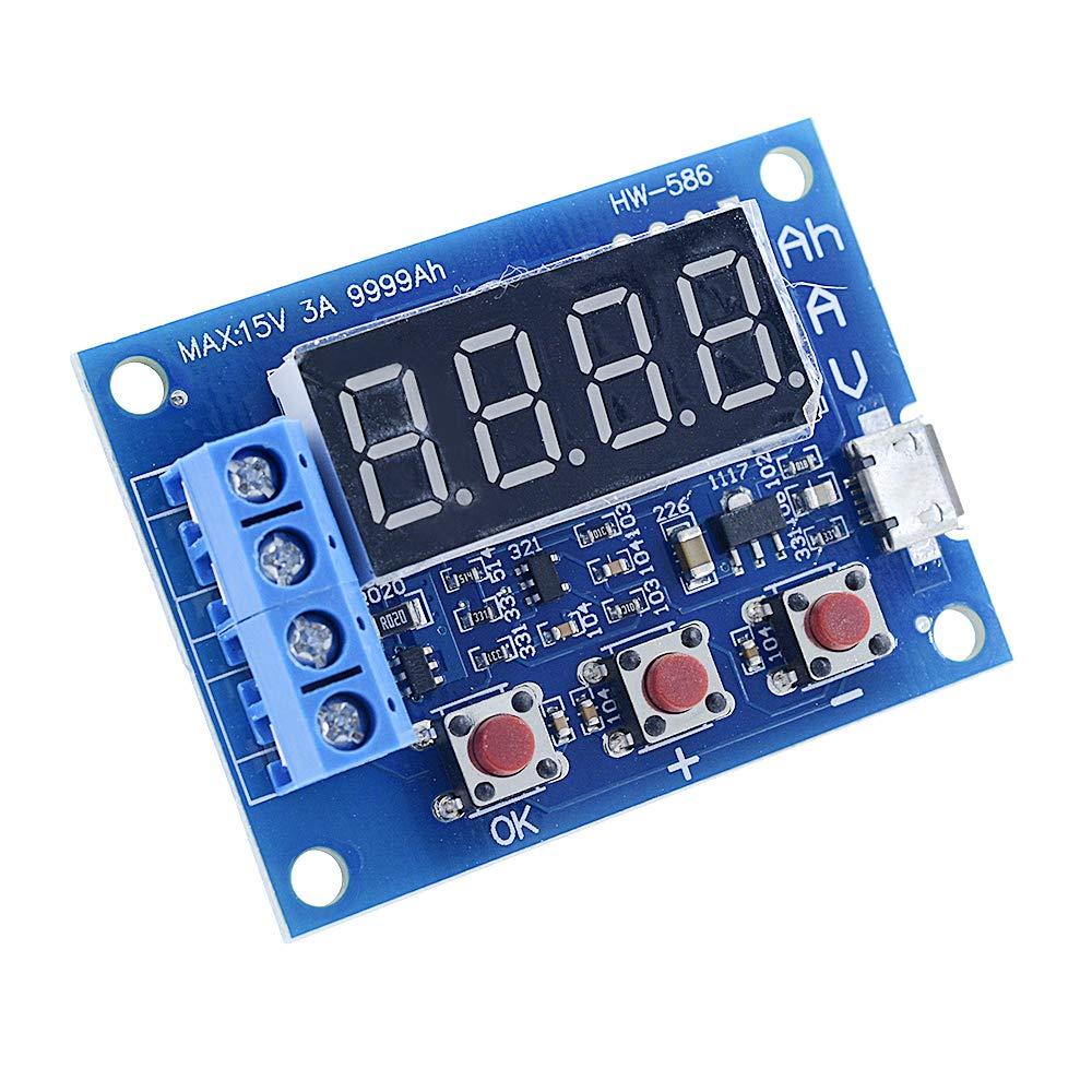 Diymore 18650 Li-ion Lithium Lead-Acid Battery Capacity Meter Discharge Tester by diymore (Image #4)