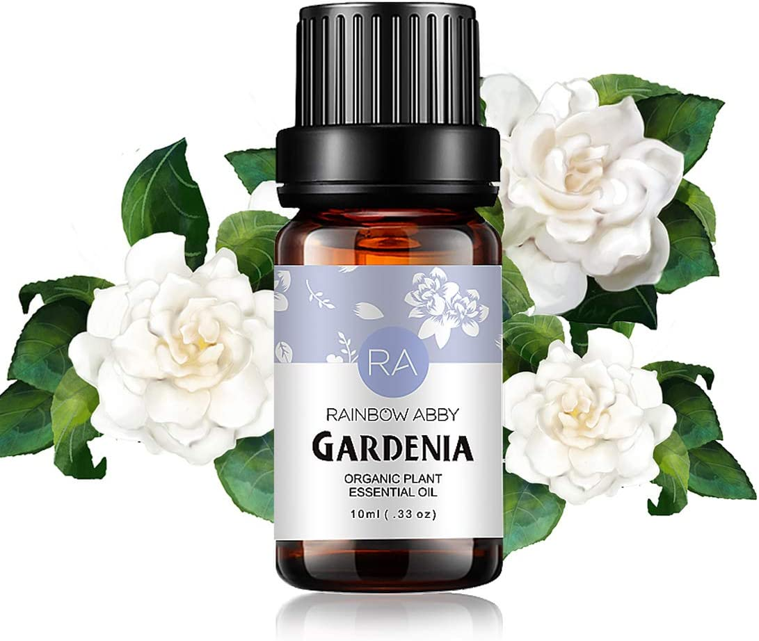 Gardenia Essential Oil 100% Pure Oganic Plant Natrual Flower Essential Oil for Diffuser Message Skin Care Sleep - 10ML