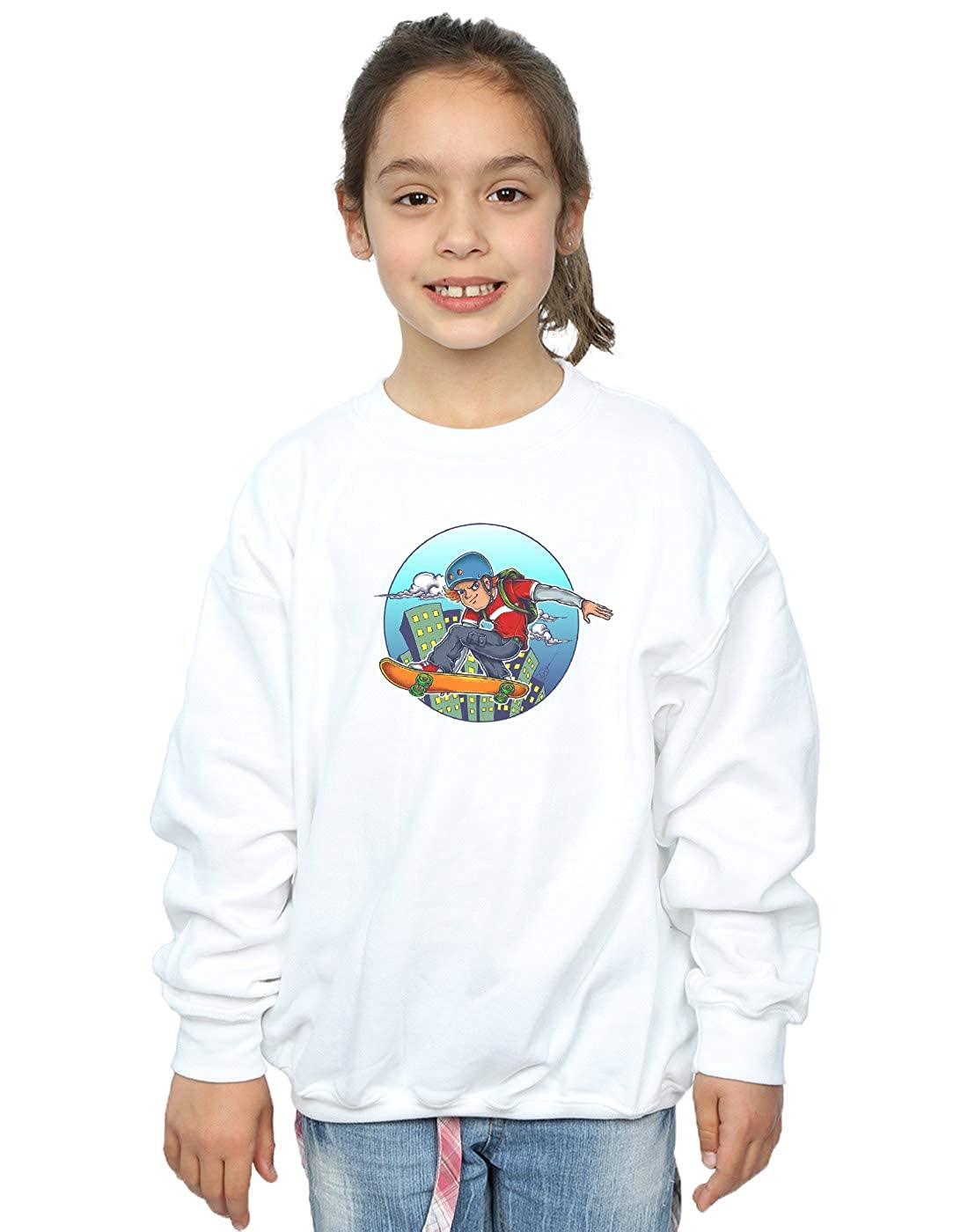 Drewbacca Girls City Skater Sweatshirt