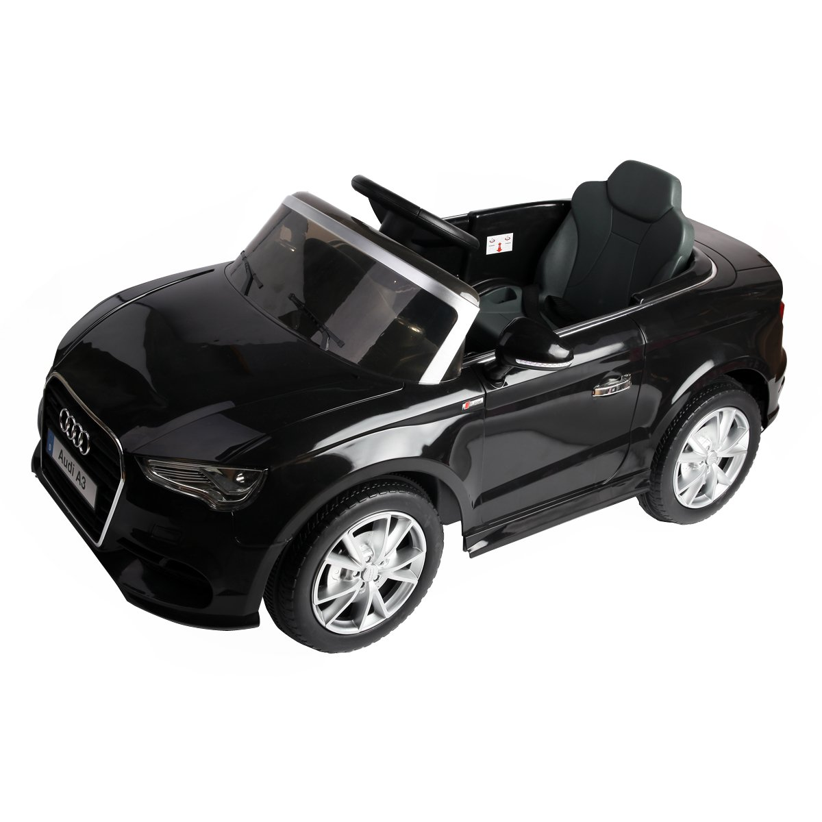 Costzon Licensed Audi A3 Kids Ride On Car 12V Battery Powered RC Riding Toy Vehicle W/LED Light by Costzon
