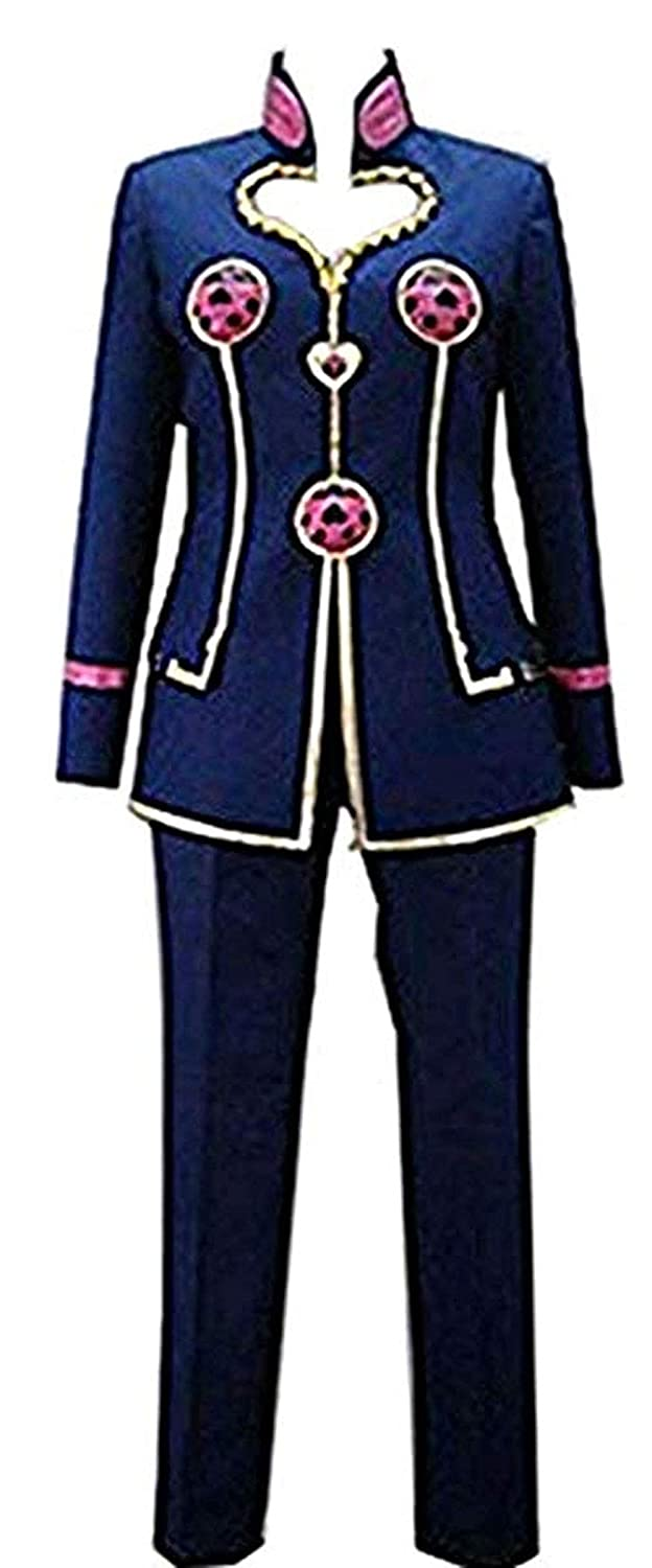 Amazon com: Vicwin-One Anime Giorno Giovanna Uniform Outfit