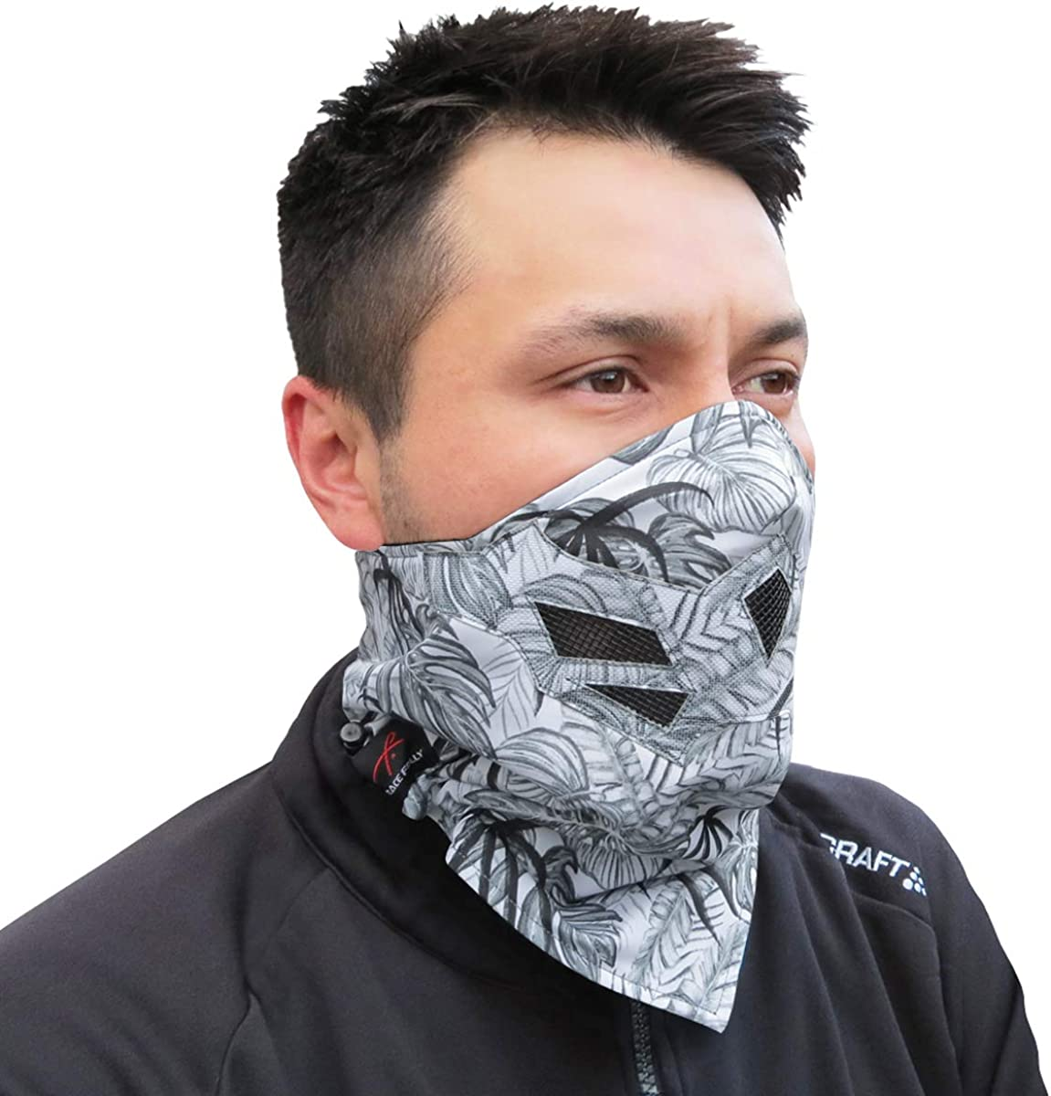 Motorcycle. Use This Half Balaclava for Snowboarding LESOVI Half Face Mask for Cold Winter Weather Ski