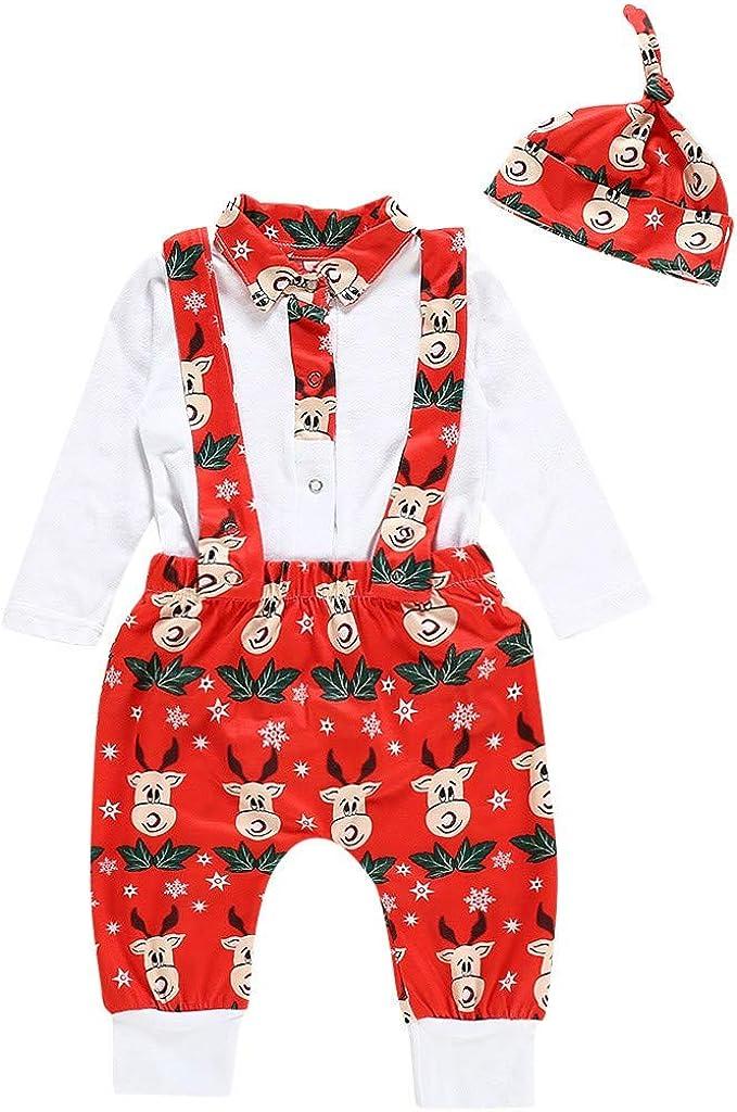 Kleinkind Kinder Baby M/ädchen Karikatur Hase Tops Drucken Strampler Jumpsuit Overall+Hosen Kleidung Outfits Sets Yuiopmo