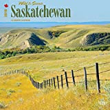 Saskatchewan, Wild & Scenic 2018 12 x 12 Inch Monthly Square Wall Calendar, Canada Scenic Nature