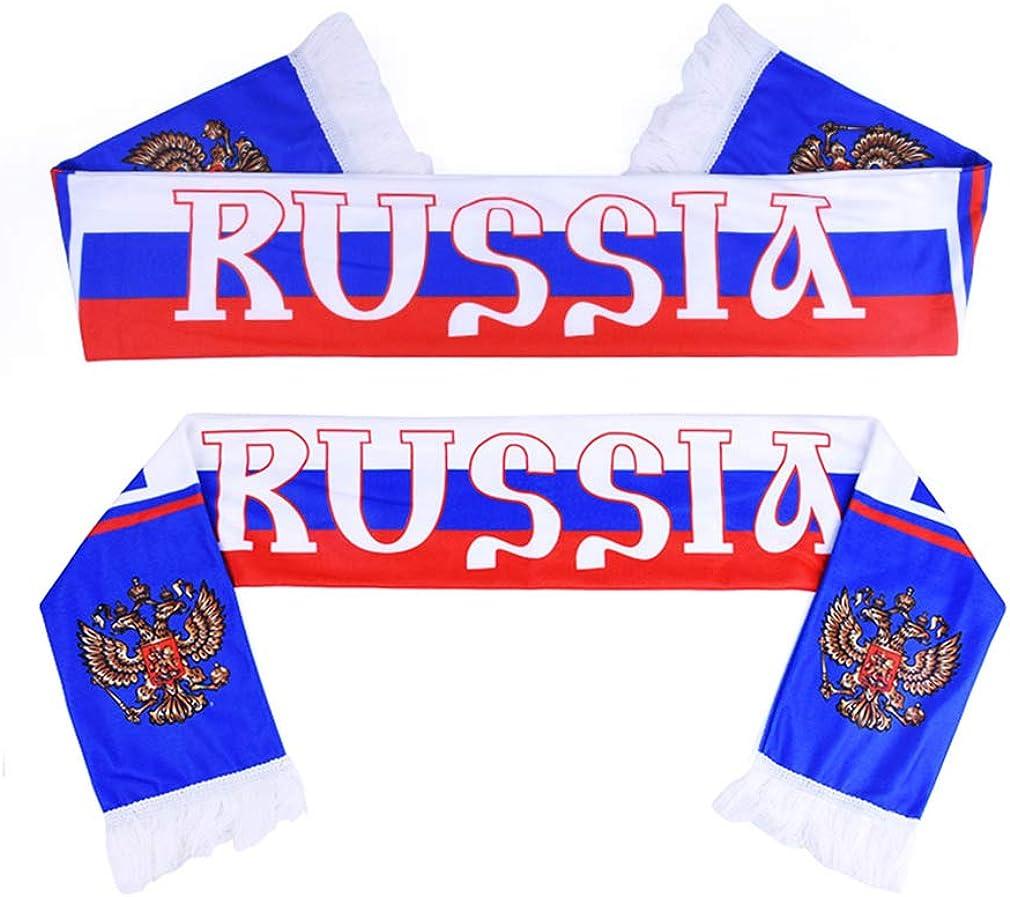 Hinchas De La Copa Mundial De Fútbol Favorito De La Bufanda De Rusia De Fútbol Pañuelo Bar Festival De Deportes Eventos Celebraciones Pañuelos