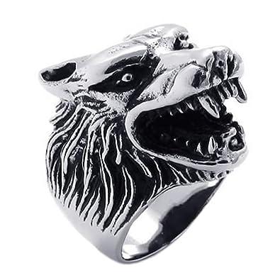 Anillos hombre lobo