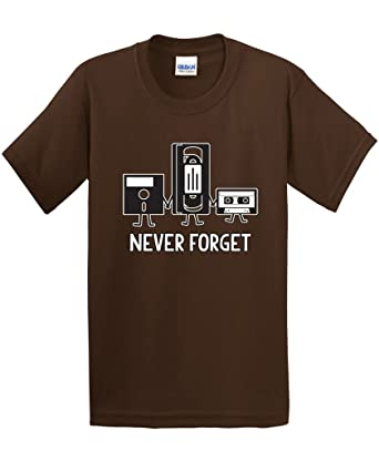 Amazon.com: Never Forget Funny Retro Guys Gift Idea Music Mens ...