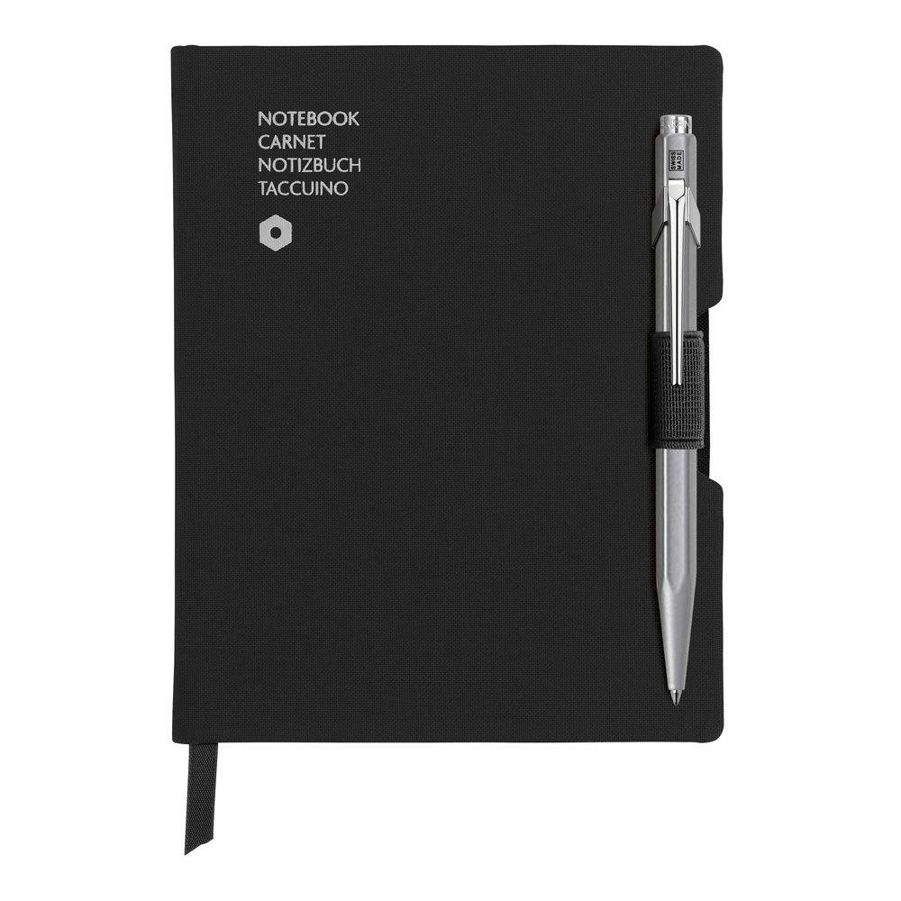 Caran d'Ache 849 BP Grey & Notebook Office A6 Black (8491.452)