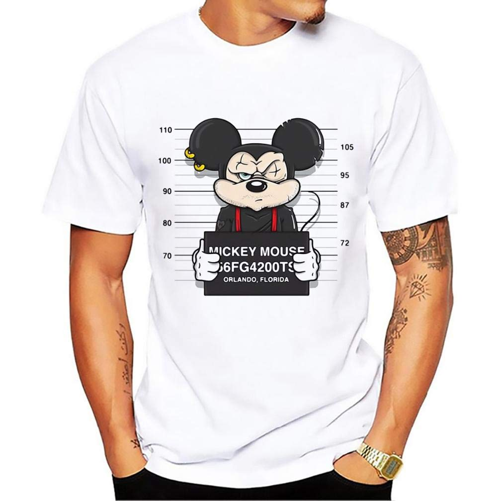 Funny Mouse S Printing S Funny Short Sleeves Shirts