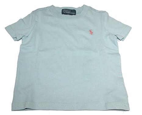 Polo Ralph Lauren - Camiseta - para bebé niña Azul Azul 12 Meses ...
