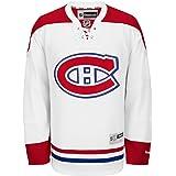 Reebok Montreal Canadiens NHL White Official Premier Home Jersey Men 7b895e0e1c4