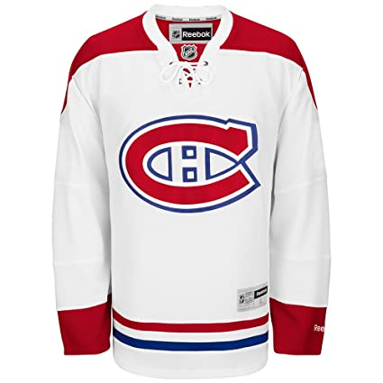 Reebok Montreal Canadiens NHL White Official Premier Home Jersey For Men  (4XL) 570e24a43cf