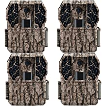 Stealth Cam Z36 No Glo 80' 10 MP 30 FPS Video IR LCD Trail Game Camera (4 Pack)
