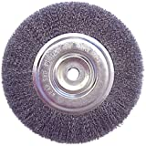 "6"" Wire Brush Wheel for Bench Grinder"